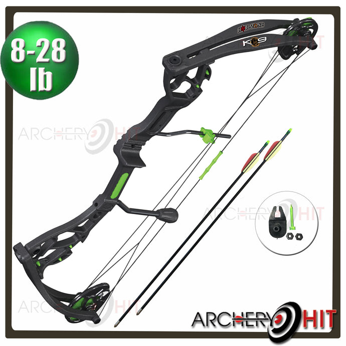 K9 Junior Compound Bow 8-28 pound set from Archery Hit