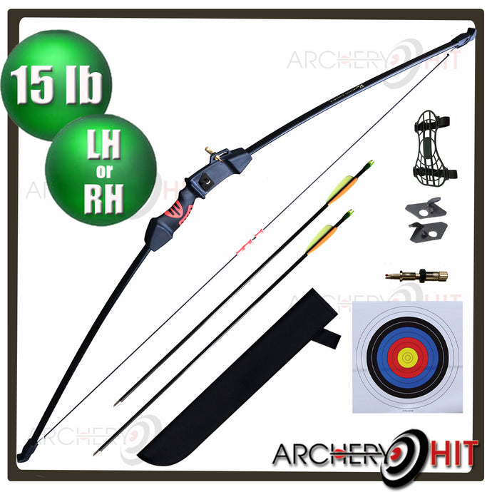 46  inch Junior Longbow Set from Archery Hit