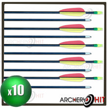 Load image into Gallery viewer, Fibreglass Arrows (10 Pack)