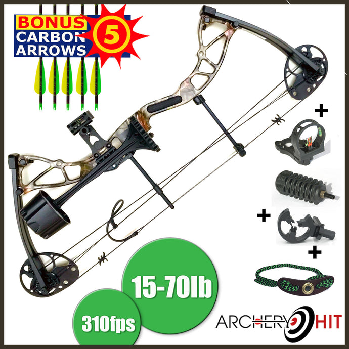 Extreminator RTS package 15-70lbs from Archery Hit