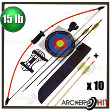 "Load image into Gallery viewer, 44"" Junior Longbow Set"