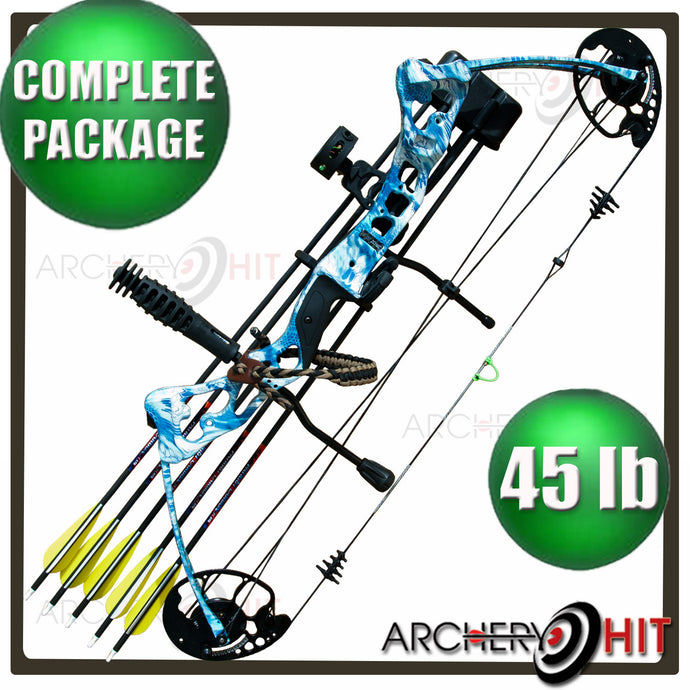 Vulture Compound Bow RTS Package in Kryptek Blue 45lb from Archery Hit