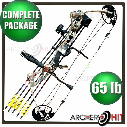 Vulture Compound Bow 65lb RTS Package from Archery Hit