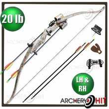 Load image into Gallery viewer, Wizardly 20lb Recurve Bow