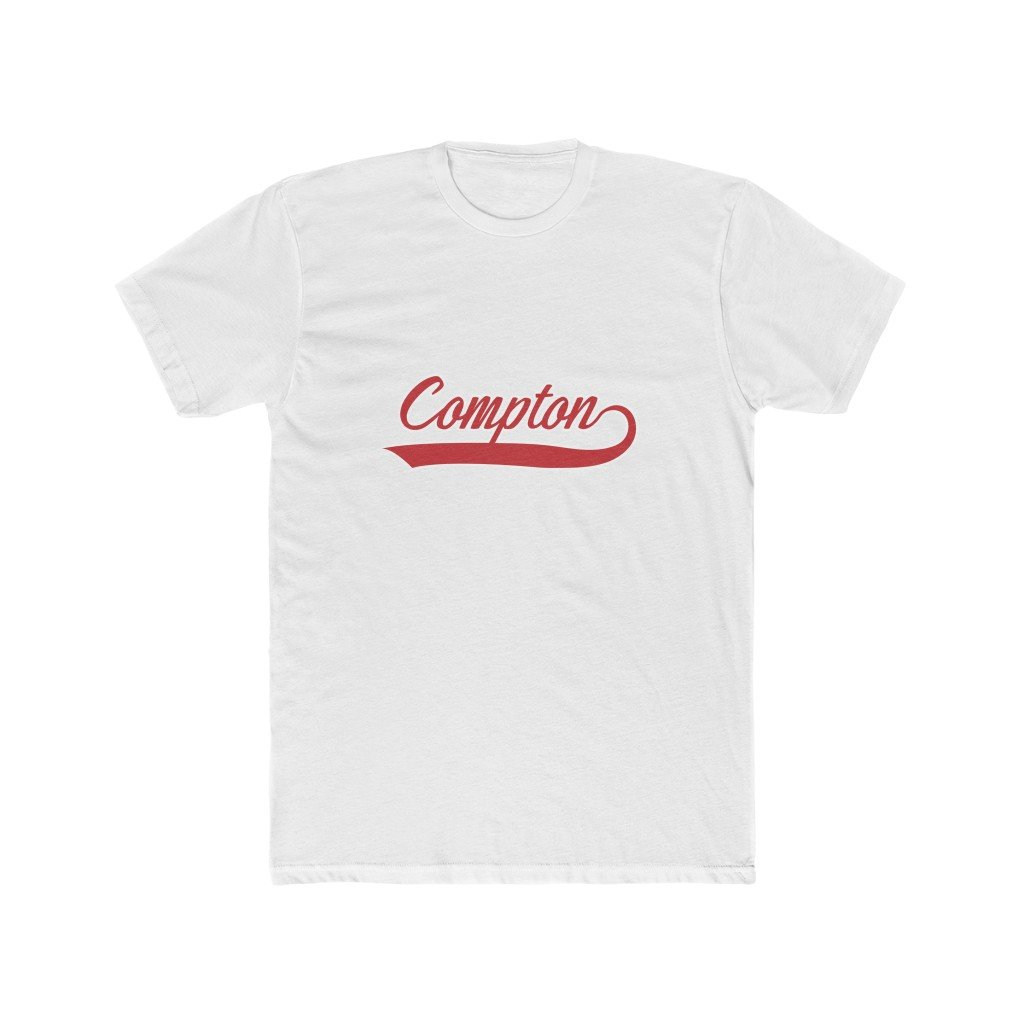 Compton Vintage Style Men's Premium Tee - Bars and Loops