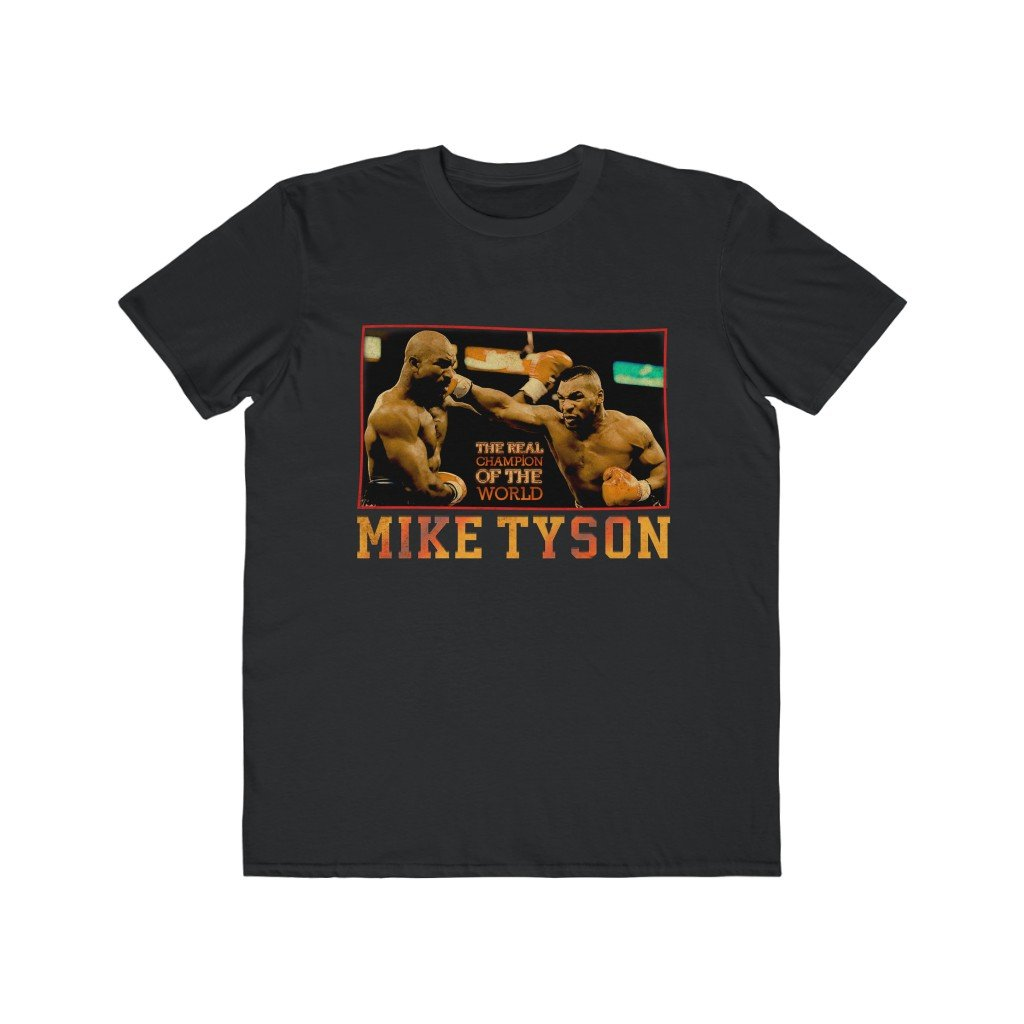 Mike Tyson Vintage Lightweight Men Tee - Bars and Loops