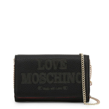 Love Moschino Logo Embossed Clutch Bag Bags Clutch bags Love Moschino black NOSIZE