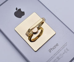 Metallic 360 Rotating Finger Ring for Cellphone Devices - Bars and Loops