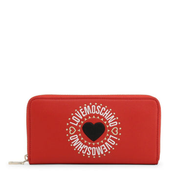 Love Moschino Embroidered Logo Women Wallet Accessories Wallets Love Moschino red NOSIZE