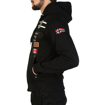 Geographical Norway - Garadock_man Clothing Sweatshirts Geographical Norway black S