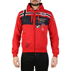 Geographical Norway - Garadock_man Clothing Sweatshirts Geographical Norway red S