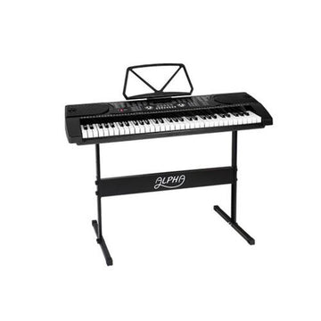 ALPHA 61 Keys LED Electronic Piano Keyboard Bars and Loops