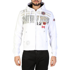 Geographical Norway - Garadock_man Clothing Sweatshirts Geographical Norway white M