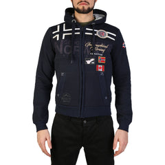 Geographical Norway - Garadock_man Clothing Sweatshirts Geographical Norway blue S