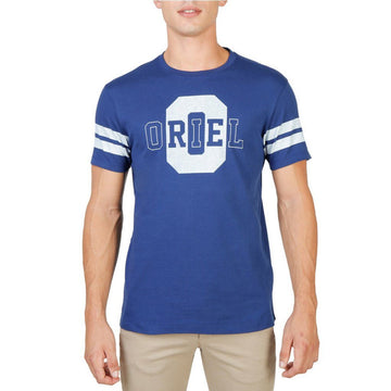 Oxford University - ORIEL-STRIPED-MM Clothing T-shirts Oxford University blue M