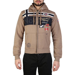 Geographical Norway - Garadock_man Clothing Sweatshirts Geographical Norway brown L