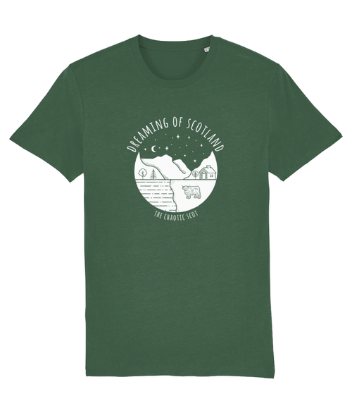 Dreaming of Scotland Unisex T-Shirt in Green