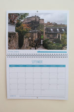 Dreaming of Scotland 2021 Wall Calendar featuring The Vennel in Edinburgh