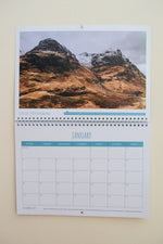 Dreaming of Scotland 2021 Wall Calendar featuring Glen Coe