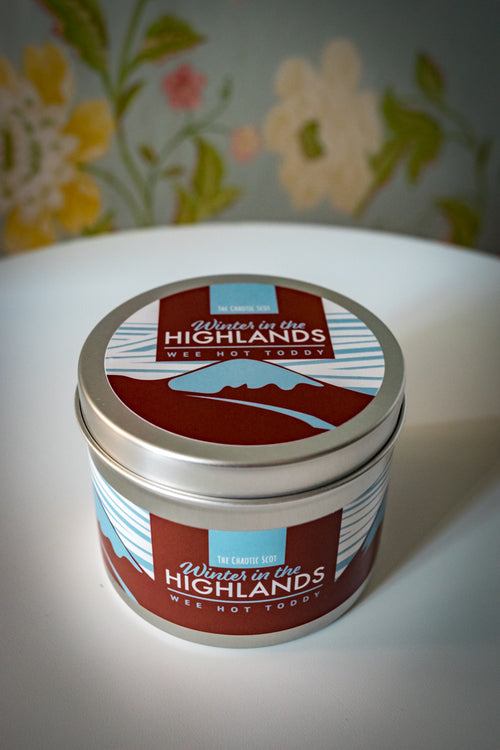 Winter in the Highlands Scented Candle - Wee Hot Toddy