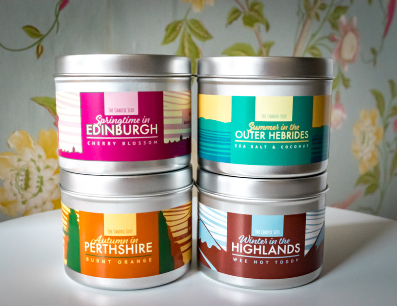 Four Seasons in Scotland - Full Set of Scented Candles