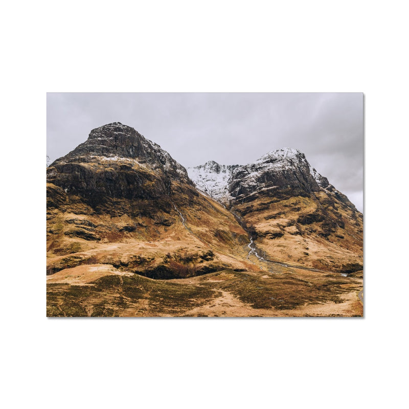Glen Coe A4 Photo Print