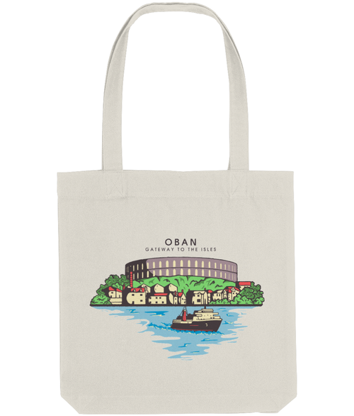 Oban Tote Bag in Natural