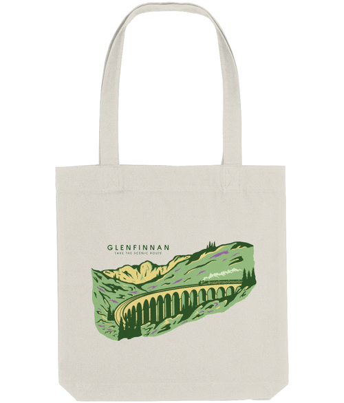 Glenfinnan Tote Bag in Natural