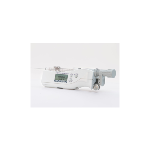 Hamilton 250 µL Digital Syringe RN Large Removable NDL, 22s ga, 2 inch, point style 2