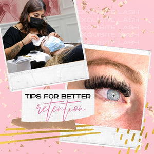 How to Make Lash Extensions Last on your clients