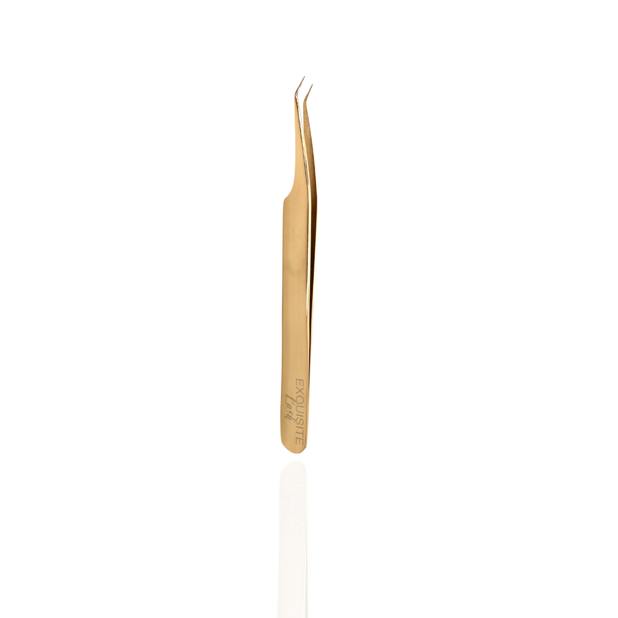 Darling Semi Curved Tweezer - Exquisite Lash