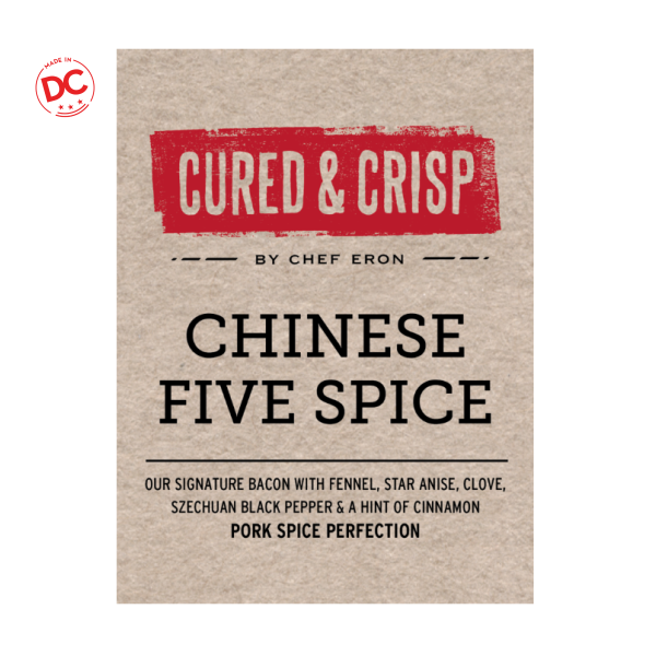 Bacon Chinese Five Spice - 8 Oz Bag Refrigerated Grocery