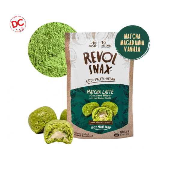 Bites Matcha Latte - 3.7 Oz Bag (Donation) Donations