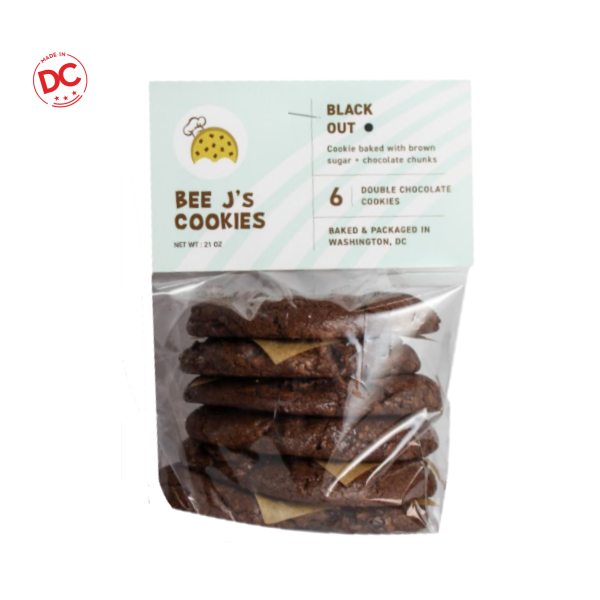 Black Out Cookies - 6 Pk Shelf Stable Grocery