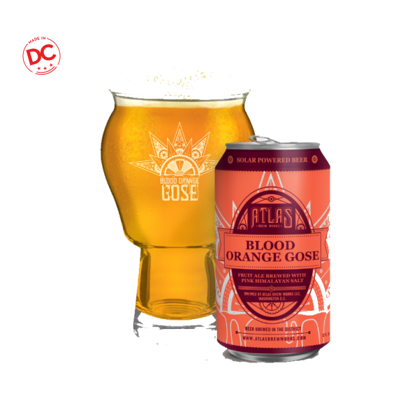 Blood Orange Gose - 6 / 16 Oz Can Alcohol
