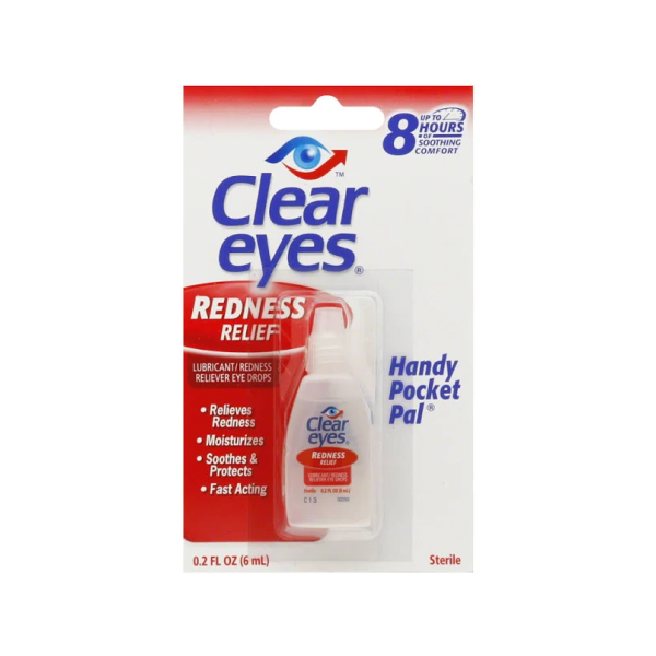 Clear Eyes Saline Solution - 0.2 Oz Btl Miscellaneous