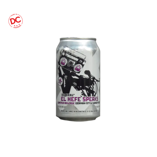 El Hefe Speaks - 6 / 12 Oz Can Alcohol