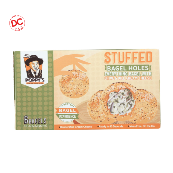 Everything Stuffed Bagels - 10 Oz Box Frozen