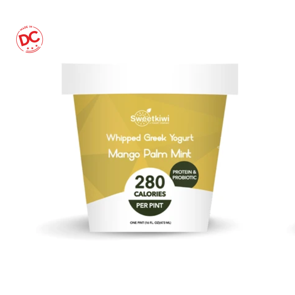 Frozen Yogurt Mango Mint - 1 Pt Ctn