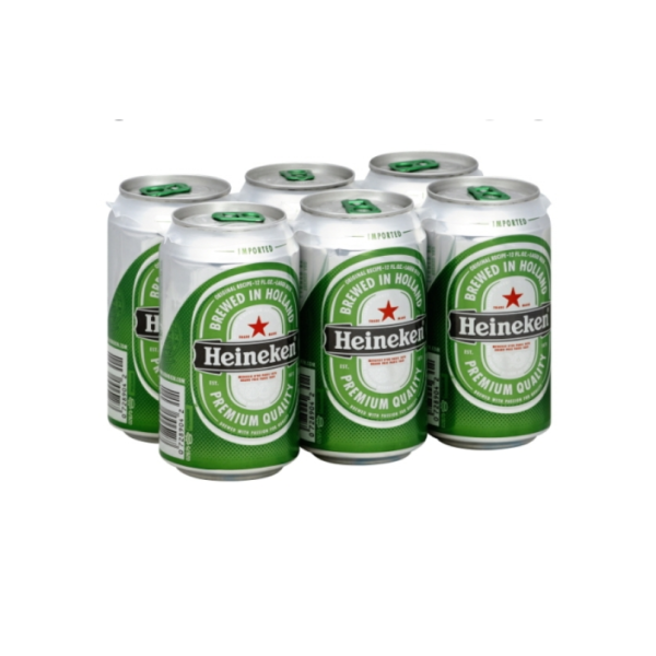 Heineken Lager - 6 / 12 Oz Can Alcohol