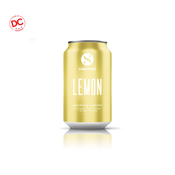 Lemon Sparkling Switchel - 12 Oz Can Rtd Beverage