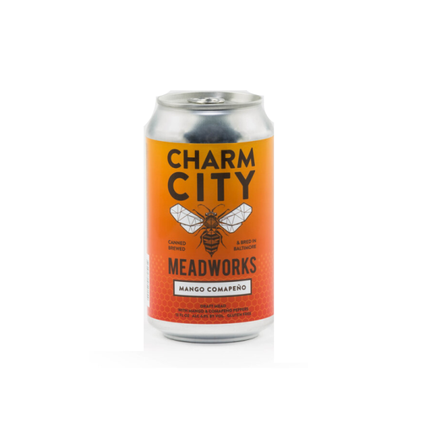Mango Compano Mead - 4 / 12 Oz Can Alcohol