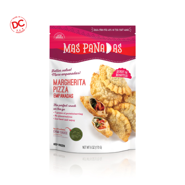 Mas Panadas Margherita - 8.5 Oz Bag Frozen
