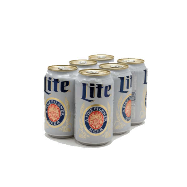 Miller Lite - 6 / 12 Oz Can Alcohol