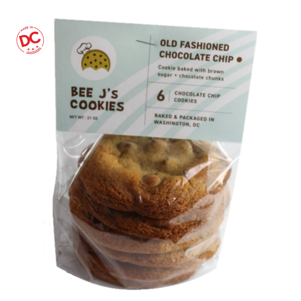 Old Fashion Chocolate Chip Cookies - 6 Pk Shelf Stable Grocery