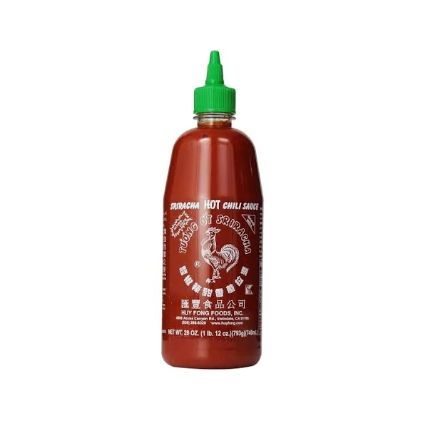 Sauce, Chili Sriracha Squeeze Bottle Shelf Stable - 28 Oz Ctn