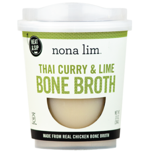 Bone Broth, Thai Curry, Lime - 10 Oz Ctn