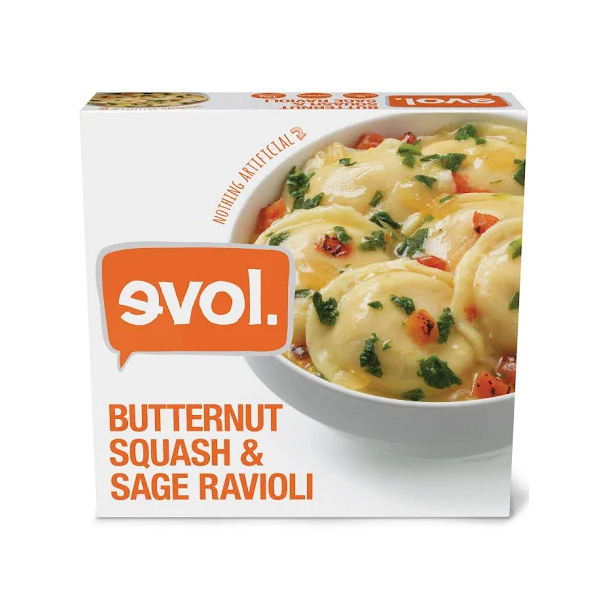 Classic Butternut Squash and Sage Ravioli - 8.13 Oz Ea
