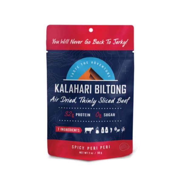 Air Dried Beef, Spicy Pepper - 2 Oz Bag