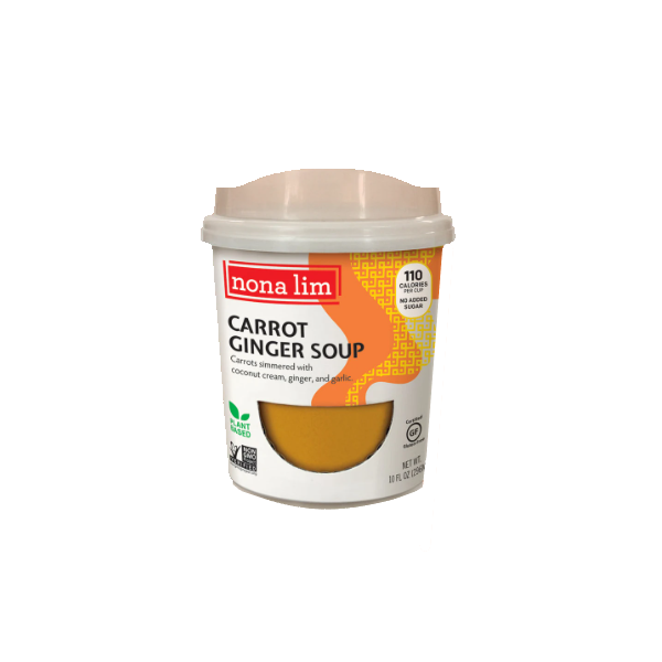 Soup, Carrot Ginger - 10 Oz Ctn